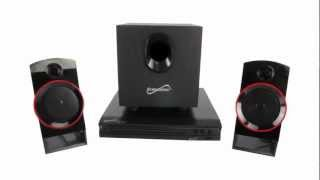 2.1 DVD/CD Theatre System | Supersonic SC-35HT