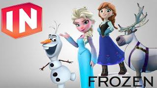 Disney Infinity 3.0 - FROZEN - Anna, Elsa, Olaf & Sven