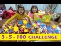 3-5-100 CHALLENGE , SONUNDA SÜPER SÜRPRİZ VAR