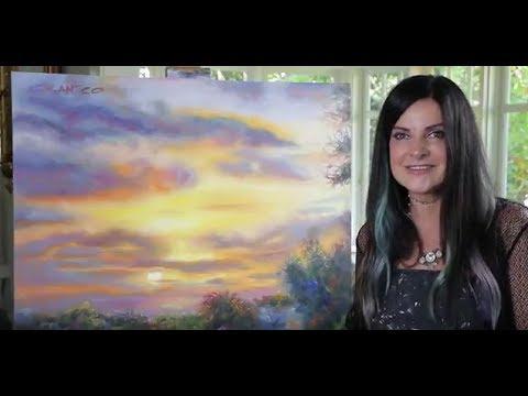 LIVE - Tetrachromat Artist Concetta Antico Paints a Summer Solstice Sunset