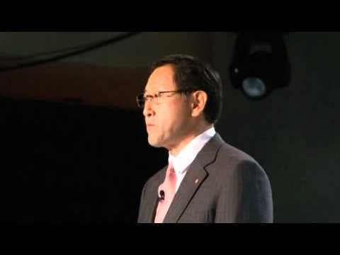 Message from Akio Toyoda, President of Toyota Motor Corporation, in Detroit, USA - NAIAS 2011