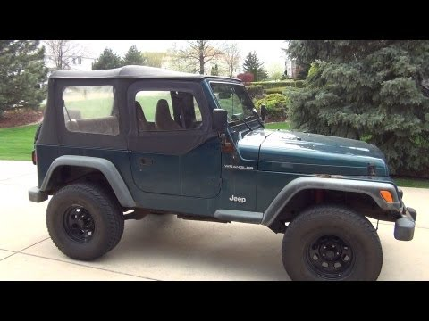 How To Put On Jeep Wrangler Top | Tutorial | Guide To Set Soft Top On |  Install/ Installation   YouTube