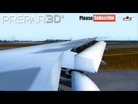 Download P3d V4 Garuda Indonesia B777 300er Landing At
