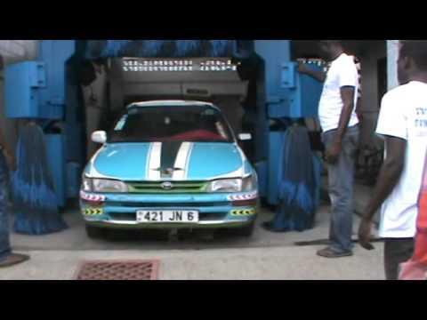 Portique de Lavage Auto au Congo