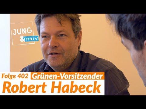Robert Habeck (Die Grünen) über unangenehme Wahrheiten - Jung & Naiv: Folge 402