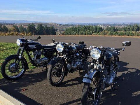 1951 Vincent Comet Motorcycle 500cc - (20) Vineyard Run