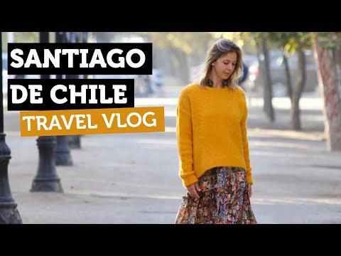 Best Places In Santiago Chile | Chile Travel Videos