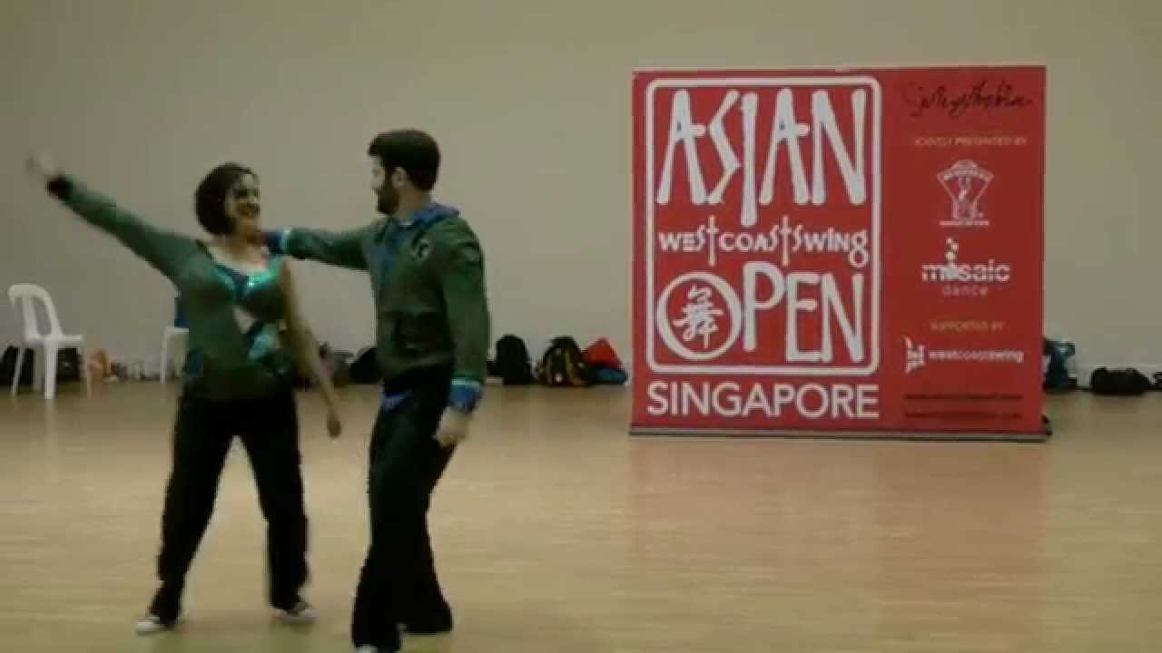 Asian west coast swing open