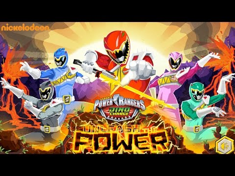 Power Rangers Dino Charge – Unleash the Power Game Nick
