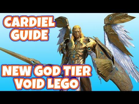[BEST NEW VOID] CARDIEL FIRST LOOK & GUIDE! - Raid: Shadow Legends