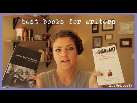 Top Books On Writing - Stephen King & Steven Pressfield (Booktube)
