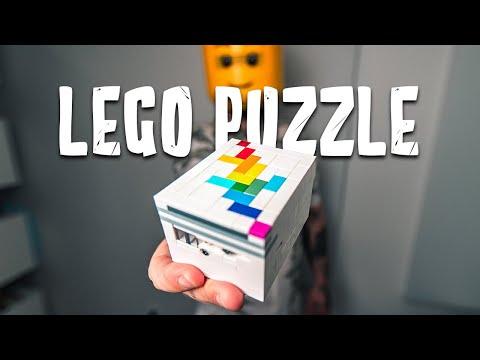 Solving A GENIUS LEGO Puzzle Box!! Level 9