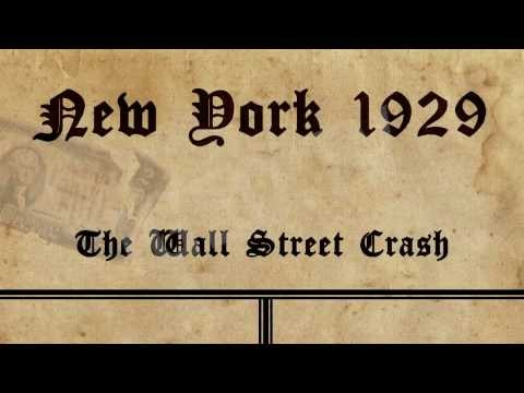 Wall Street Crash of 1929, New York  [IGEO TV]