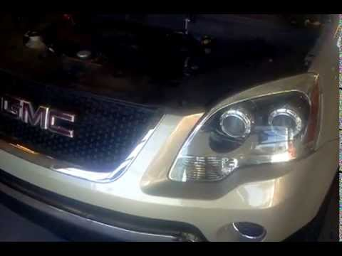 Gmc Acadia Battery Location Youtube