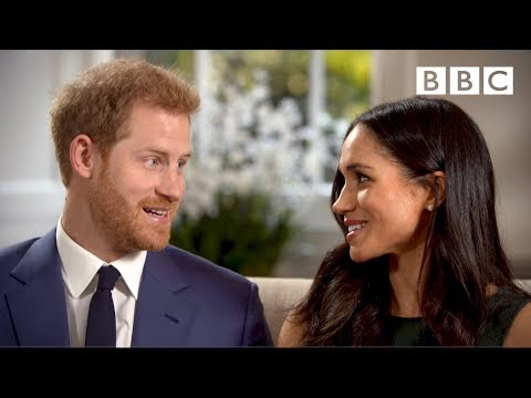 When Prince Harry and Meghan Markle fell in love - The Royal Wedding - BBC