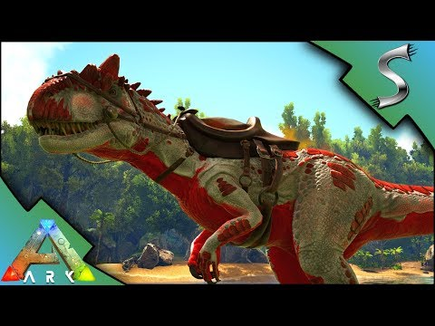 ARK ALLOSAURUS MUTATIONS! BREEDING FOR MUTANT ALLOS! - Ark: Mutation Factory
