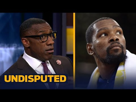 Skip and Shannon blame Kevin Durant for Warriors' Game 4 loss to Rockets | NBA | UNDISPUTED