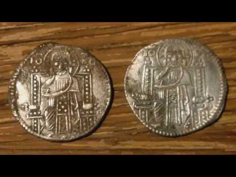 Ancient Roman Coin Restoration Project - Venetian Silver
