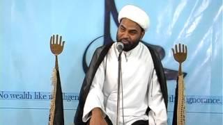 Maulana Akhtar Abbas Jaun- Topic: Fazail e Ameerul Momineen Imam Ali (as)/Iqlaas, Part-1.