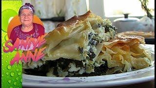 Ispanaklı Su Böreği - Ramazan menüleri