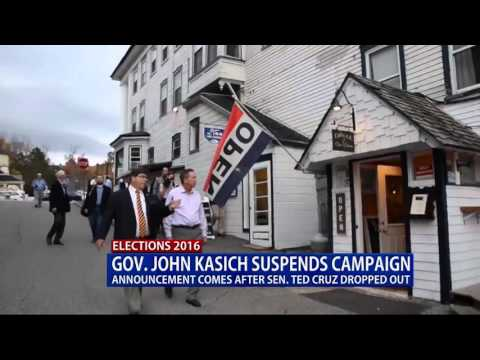 John Kasich Drops out of 2016 Race