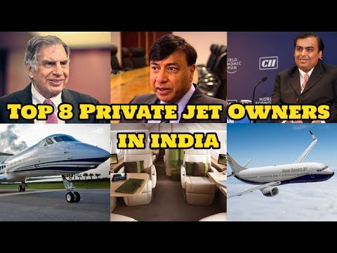 Top 8 Private Jet Owners In India