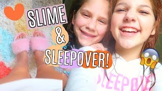 Shopping for Edible Slime Supplies After Hurricane Harvey & Sleepover with Hope