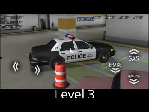 Police Car Parking Reloaded 3D lvl 1-18 Gameplay