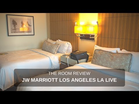 Review : JW Marriott Los Angeles L.A. LIVE [Deluxe Room]