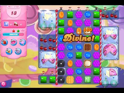 Candy Crush Saga Level 4100 NO BOOSTERS