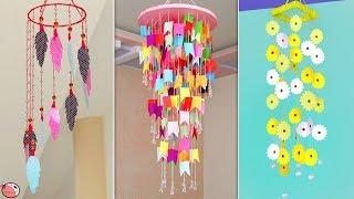 10 DIY Paper Wall Hanging || Paper Craft Idea !!!
