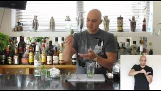 Bacardi Mojito | Signed Cocktail | Paul Martin