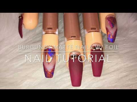 Acrylic Coffin Nails Tutorial For Beginners