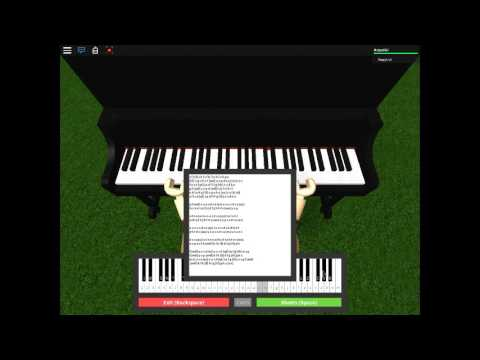 Songs on the piano on roblox