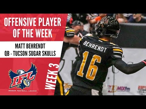 Week 3 Offensive Player of the Week: Matt Behrendt