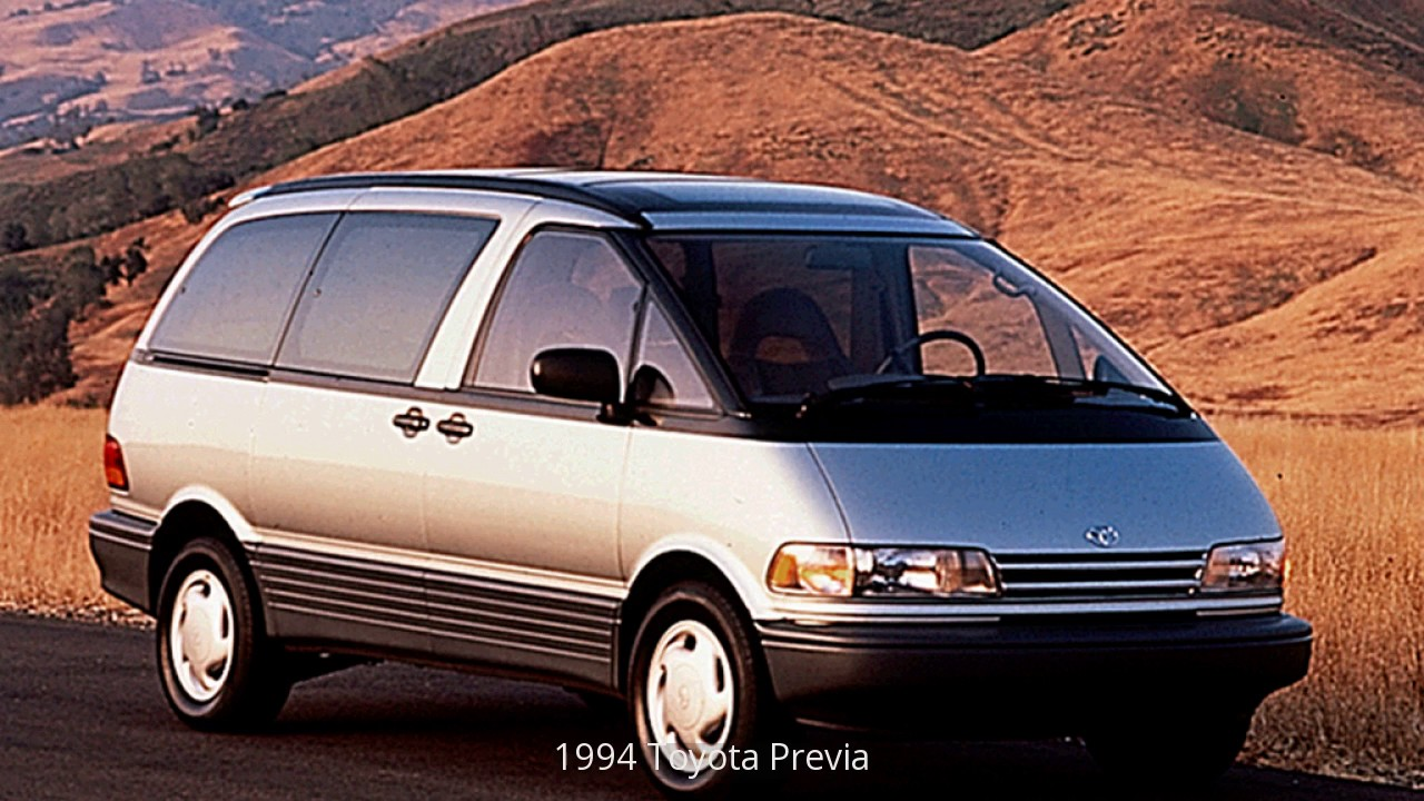 1994 toyota previa youtube. Black Bedroom Furniture Sets. Home Design Ideas