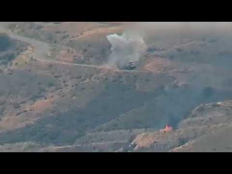 Кадры уничтожение Азербайджанской армии во второй Карабахской войне (часть 2) /клип