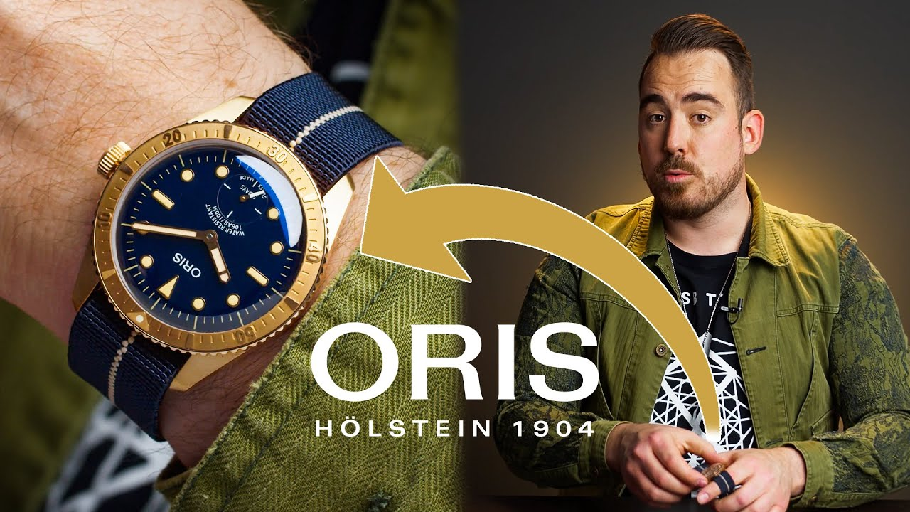 Want To Buy Your First Bronze Watch?! Check Out The Oris Carl Brashear Calibre 401