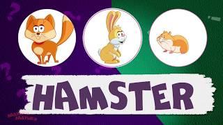 Учим английский для детей! English for kids! Тема - Домашние животные - развивающие мультики