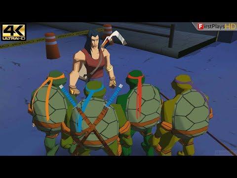 Teenage Mutant Ninja Turtles (2003) - PC Gameplay 4k 2160p / Win 10