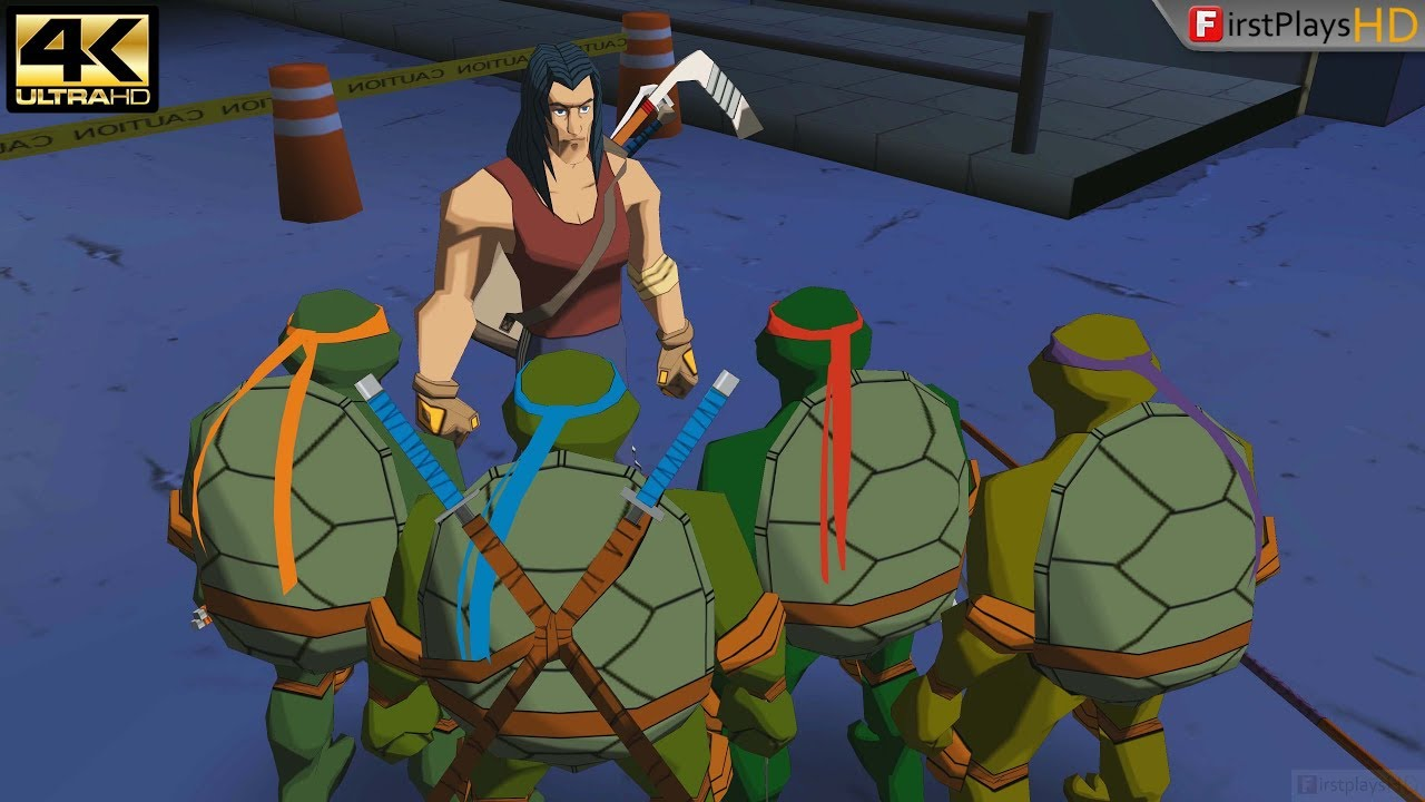 Teenage Mutant Ninja Turtles 2003 Pc Gameplay 4k 2160p Win 10 Youtube