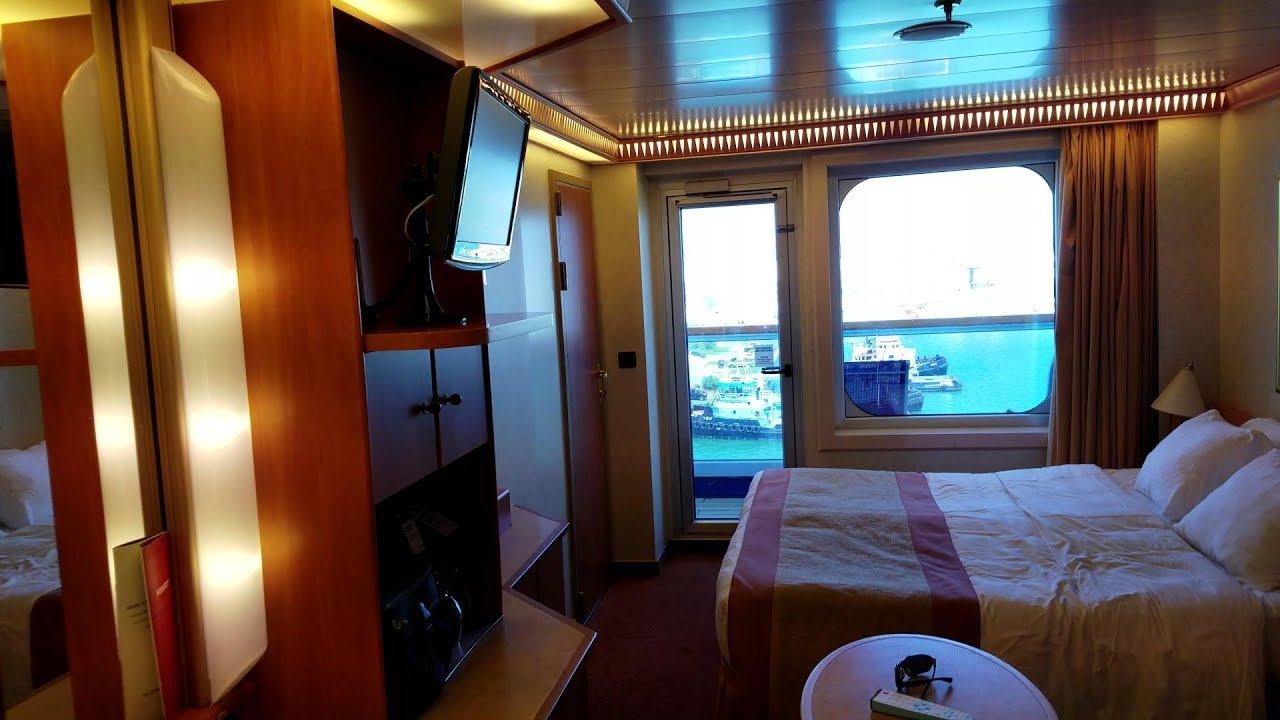 Carnival liberty balcony room video tour youtube for Balcony in room