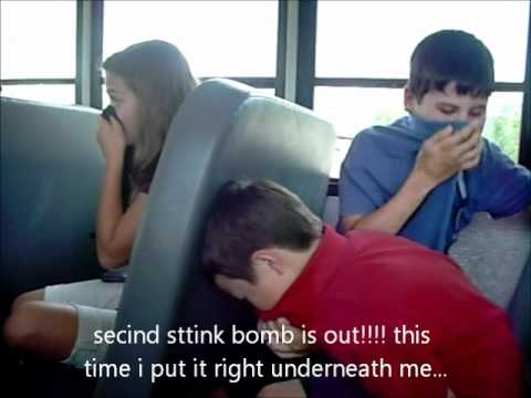 Last Day Of School Puting Out Stink Bombs On The Bus Youtube