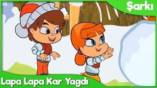 Lapa Lapa Kar Yağdı Çocuk Şarkısı ⛄ Okul Öncesi Türkçe Çocuk ve Bebek Şarkıları