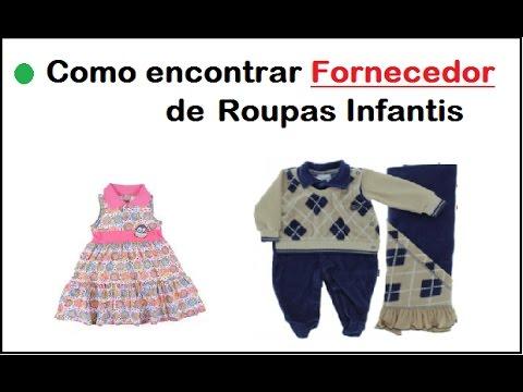 Como encontrar fornecedor de roupas infantis - YouTube cc2040e977912