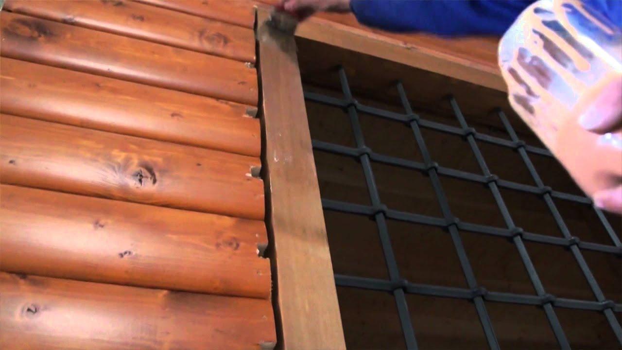 C mo es el mantenimiento exterior de una casa de madera - Como impermeabilizar madera ...