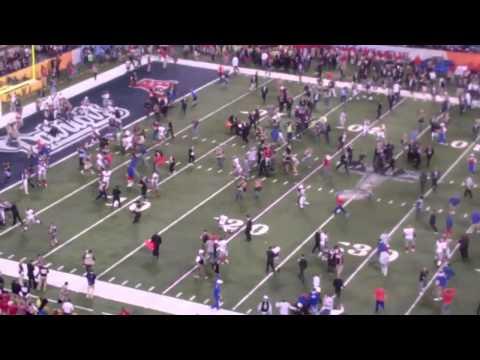Giants - Patriots Superbowl XLVI