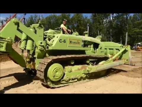 Euclid C-6 Dozer Ripping Rock