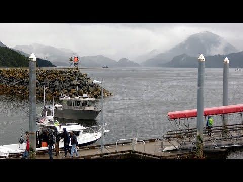 Sitka Alaska Cruise Port & Shuttle Ride, Visitor Center (Harrigan Centennial Hall) & Crescent Harbor