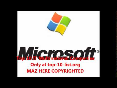 Top 10 IT Multinational Companies.wmv